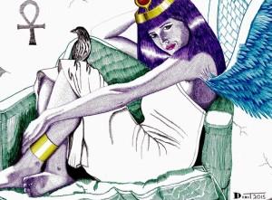 Isis, Egyptian Goddess of Fertility